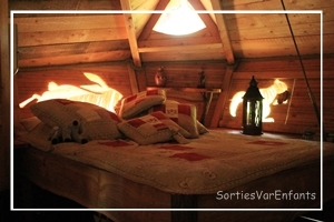 les cabanes du varon une nuit en cabane a vous dit sorties var enfants. Black Bedroom Furniture Sets. Home Design Ideas