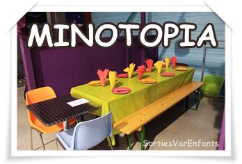 MINOTOPIA fête les anniversaires en intérieur !