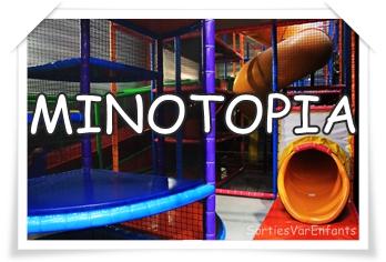 MINOTOPIA parc de loisir alliant structures de jeu et laser game