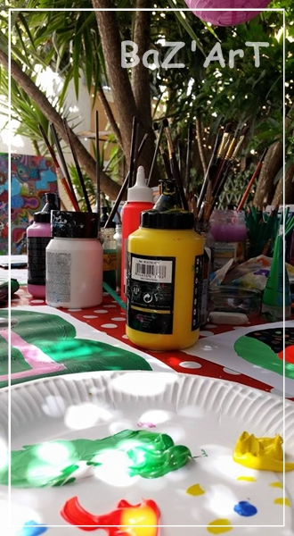 baz'art, atelier, artistique, enfants, famille, Var, Toulon