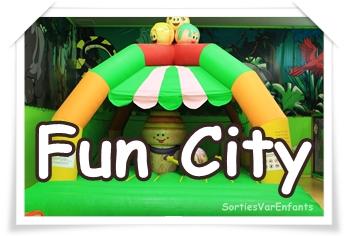 FUN CITY: deux salles de loisirs pétillantes et acidulées