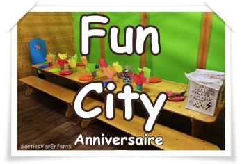 FUN CITY : pour un anniversaire «fun» en intérieur