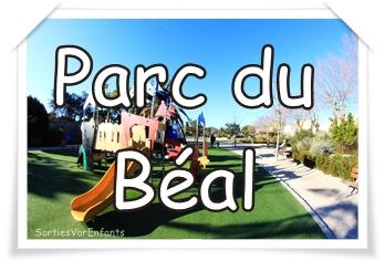 LE PARC DU BEAL : un joli jardin entre jeux et verdure !