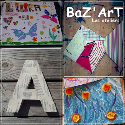 ateliers, Baz'ArT, artistique, création, Toulon, Var, enfants, famille