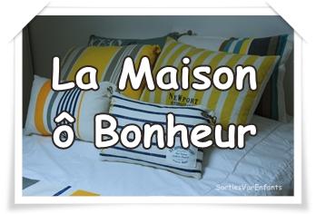 LA MAISON ô BONHEUR : l'appartement familial esprit «mer»