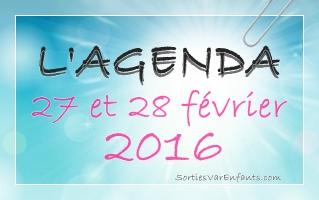 L'AGENDA du week-end dans le VAR : 27 et 28 février 2016