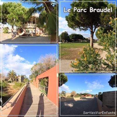 parc, Braudel, Var, La Seyne sur Mer, Les Sablettes, Enfants, famille, sortir, plage