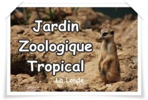 Jardin Zoologique Tropical La Londe Sorties Var Enfants
