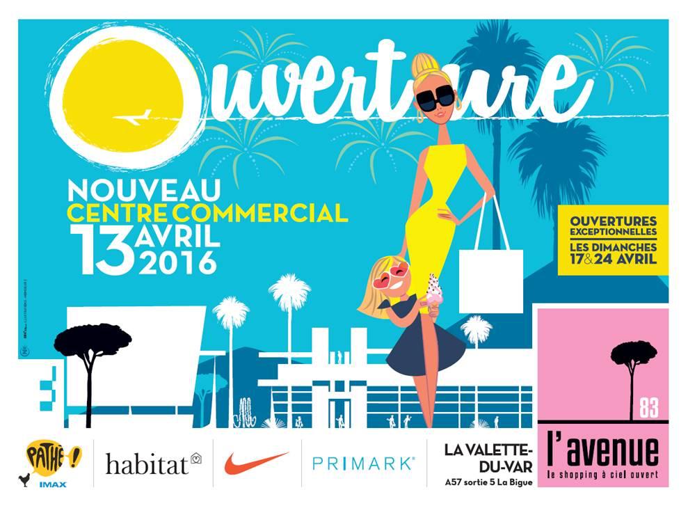 L 39 avenue 83 l 39 instant shopping ciel ouvert s lection - Magasin ouvert aujourd hui dans le 57 ...