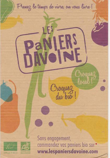 LES PANIERS DAVOINE : Recevez vos fruits et légumes BIO