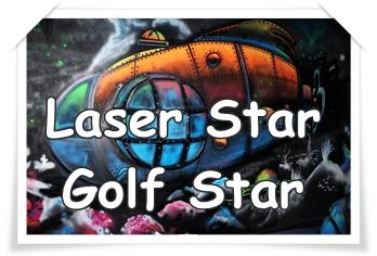 LASER STAR  – GOLF STAR : n'attendez pas les jours de pluie pour vous amuser en famille