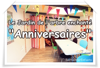 LE JARDIN DE L'ARBRE ENCHANTE : 3 lieux pour des anniversaires enfants à thème