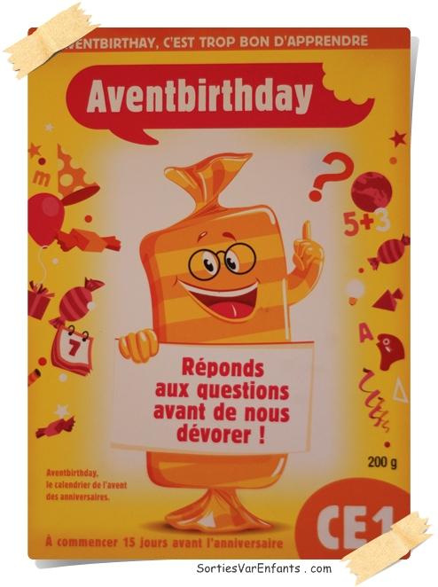 calendrier, Avent, anniversaire