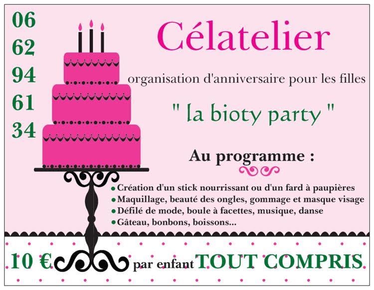 anniversaire, enfants, filles, girly, Var, Ollioules