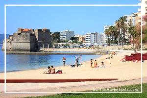 plage, balade, activités, plein air, Toulon, Le Mourillon, Var, enfants, sortie, restaurants