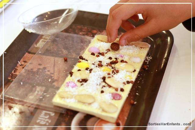 chocolaterie, fondue, chocolat, Salernes, Var, atelier, enfant, famille, 83