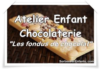 Les ateliers gourmands de la Chocolaterie «Les fondus de chocolat»