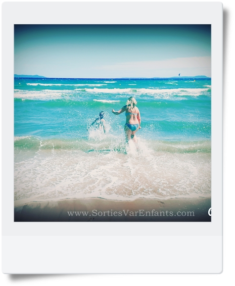 plage, Var, 83, tourisme, famille, Hyères, La Capte
