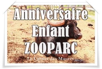 Fête ton anniversaire entouré d'animaux au Zooparc du Cannet des Maures