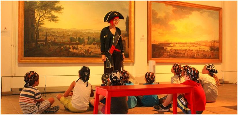 Connaissez-vous les ateliers jeune public du musée de la marine de Toulon ?