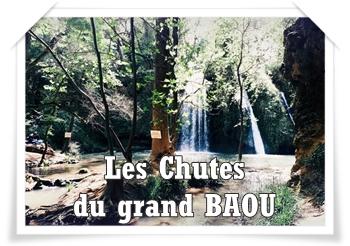 Les chutes du grand Baou, la pause nature en famille en toute simplicité