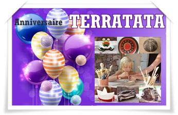 Les anniversaires modelage-argile avec TERRATATA